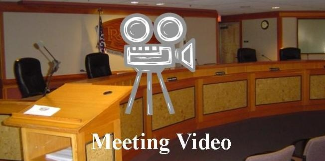 Click here for meeting video