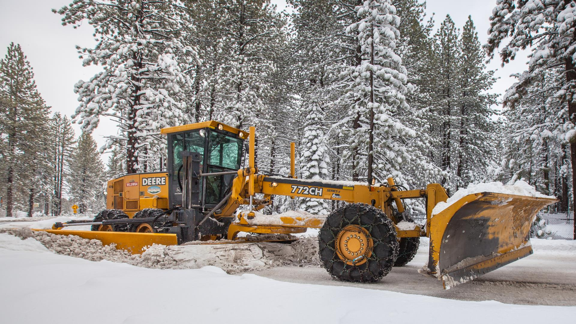 Town of Truckee Snow Removal Equipment