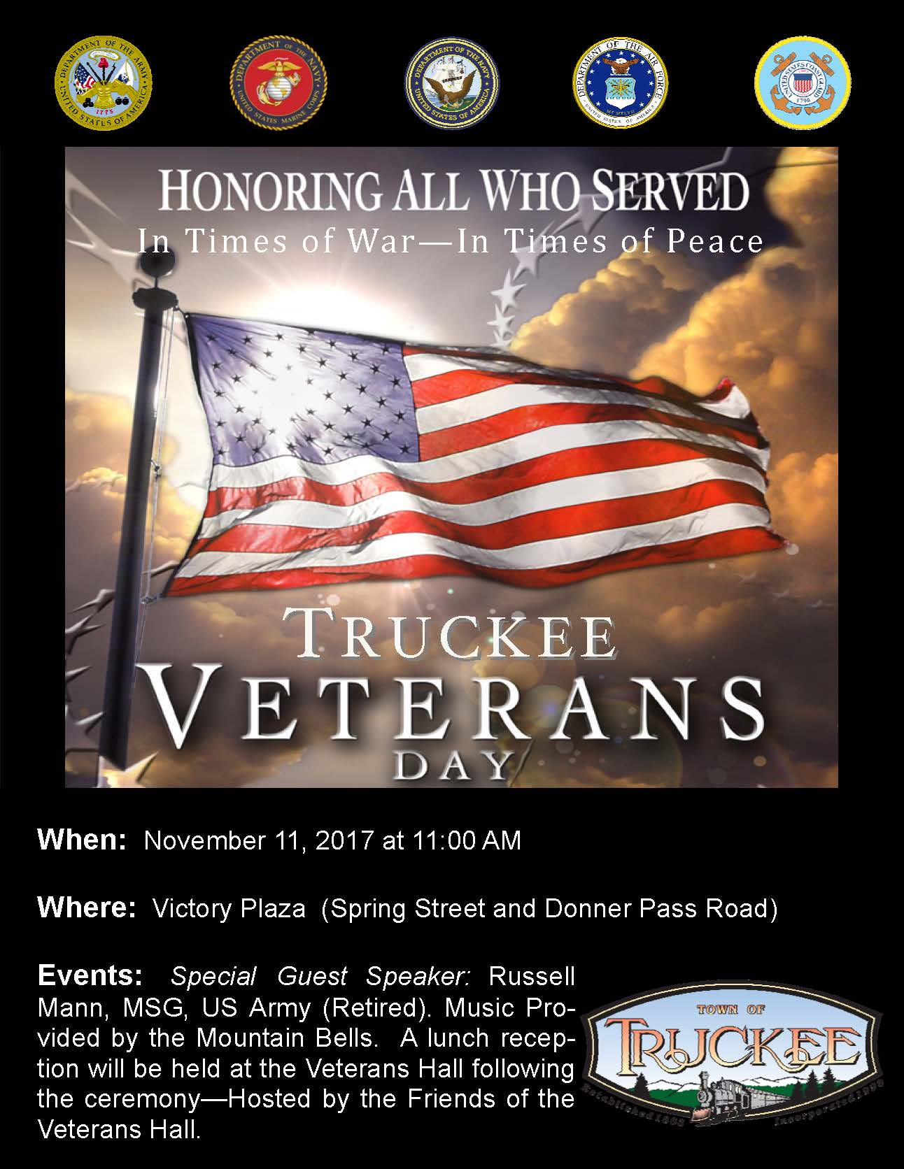 Veterans Days 2017 Poster