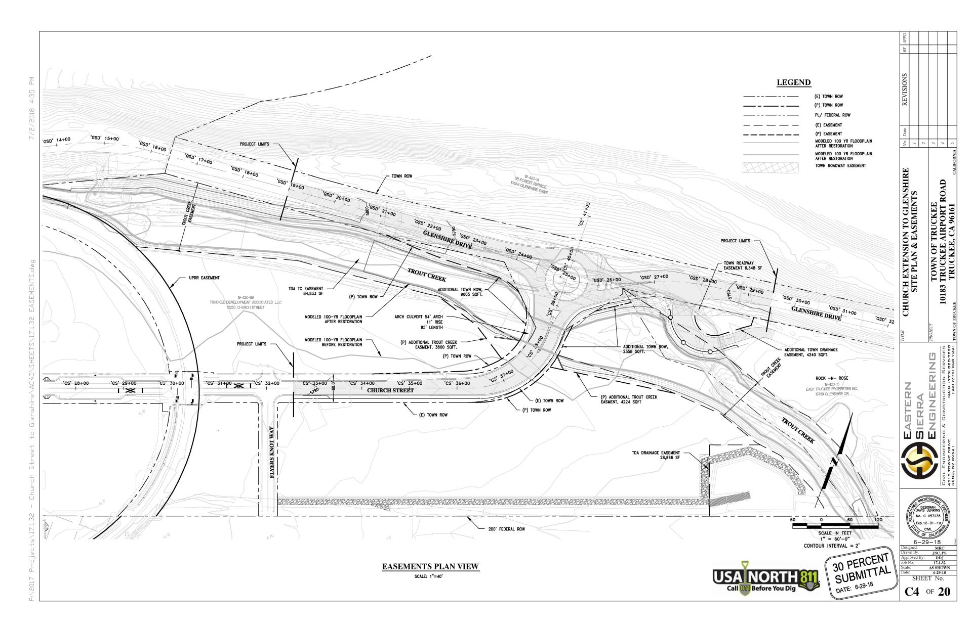 30% Plans of Church Street to Glenshire Drive.pdf - Adobe Acrobat Pro