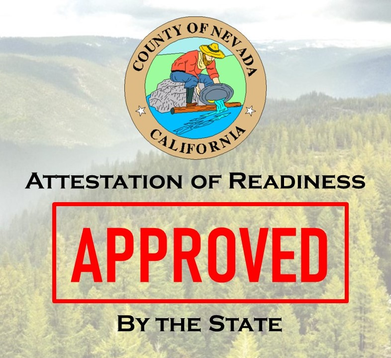 Attestation of Readiness Approved by State