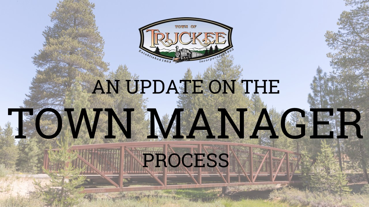 Town Manager Recruitment Process 2020