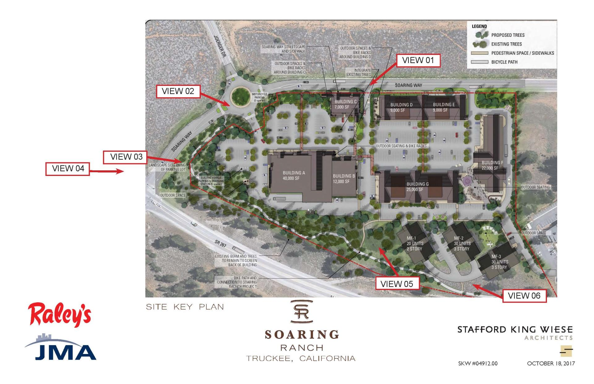 Raley's site plan