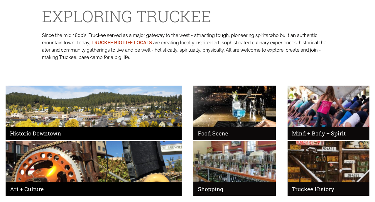 Exploring Truckee Image