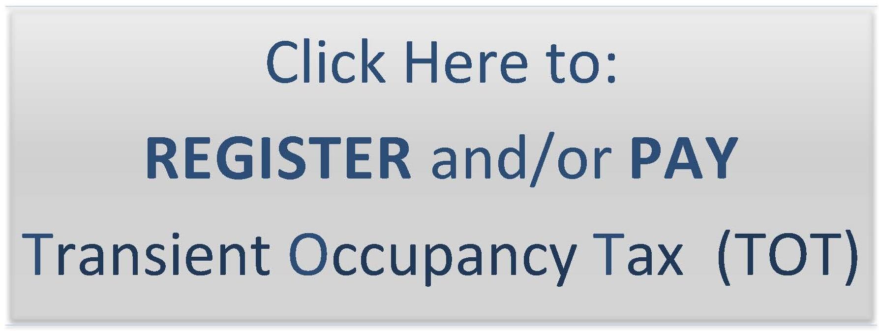 Transient Occupancy Tax (TOT) & Short-Term Rental Compliance