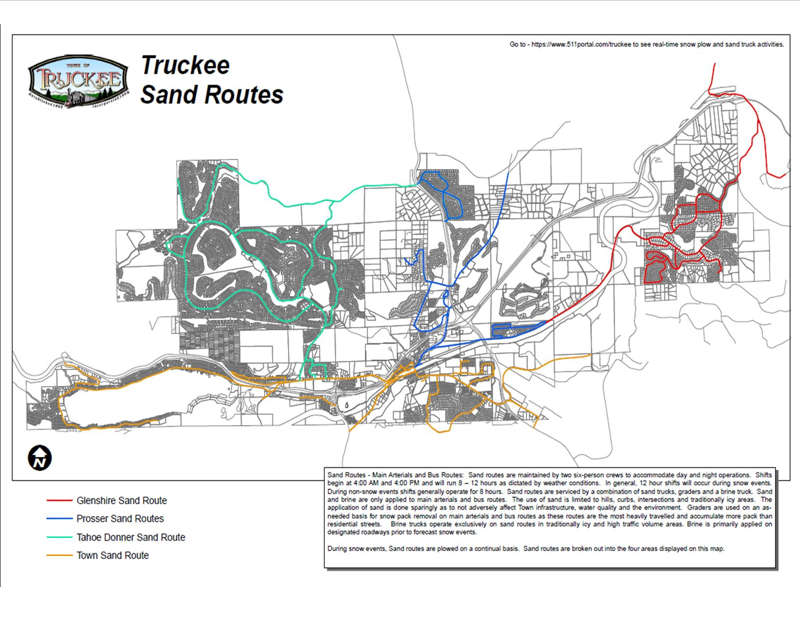 2018-2019 Sand Routes
