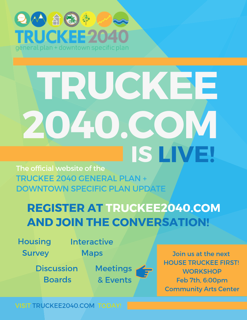 Truckee2040 Website is LIVE!