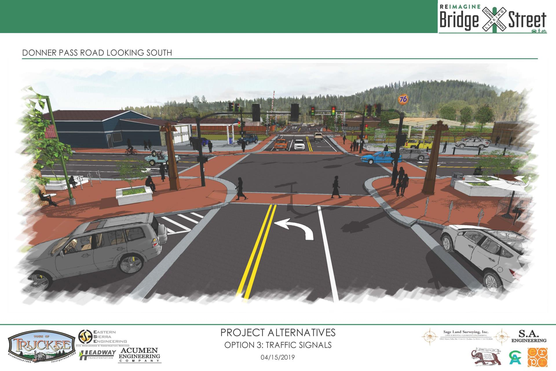 Reimagine Bridge Street Option 3
