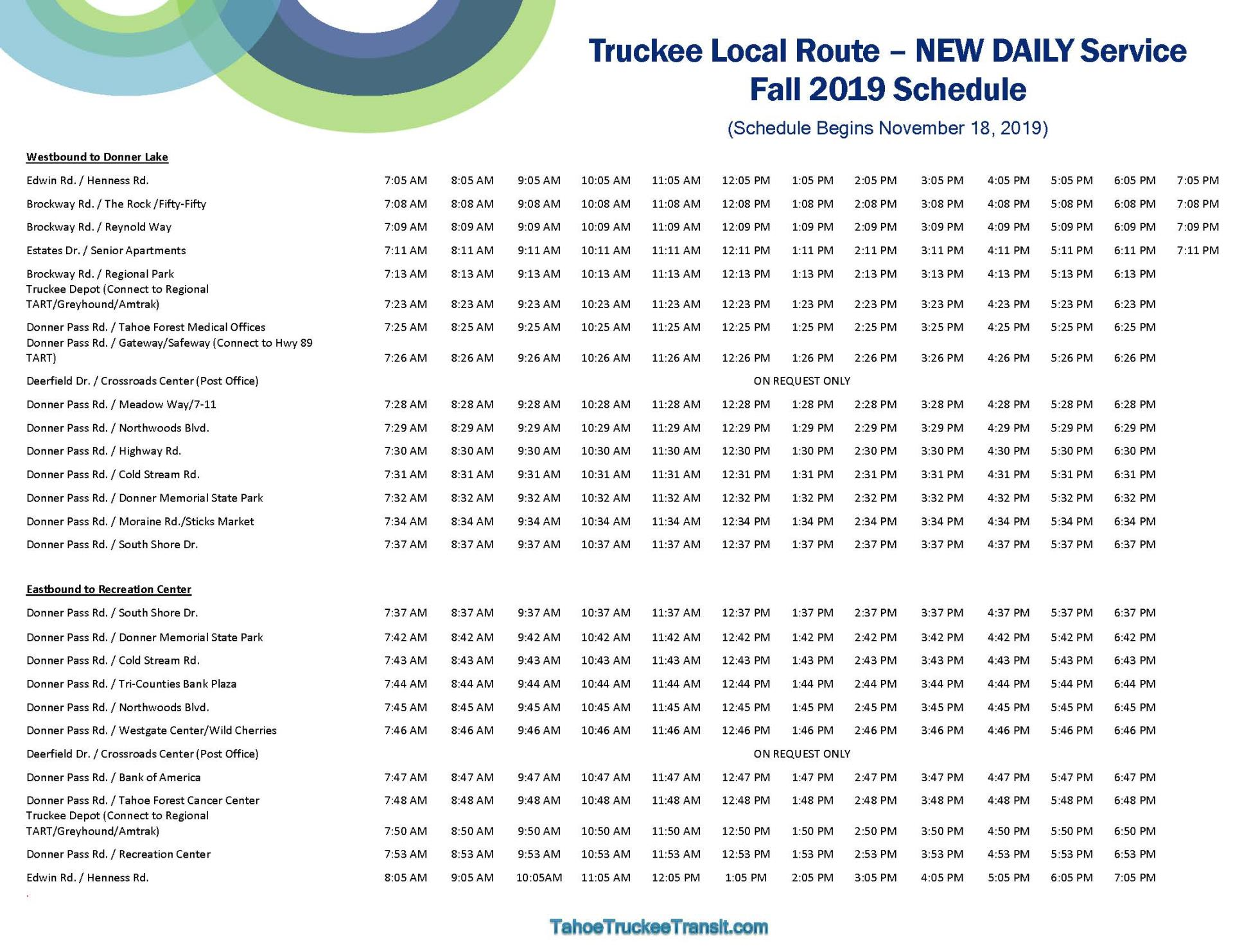 TART - Truckee Local Route Schedule Flyer - Fall 2019_Page_2
