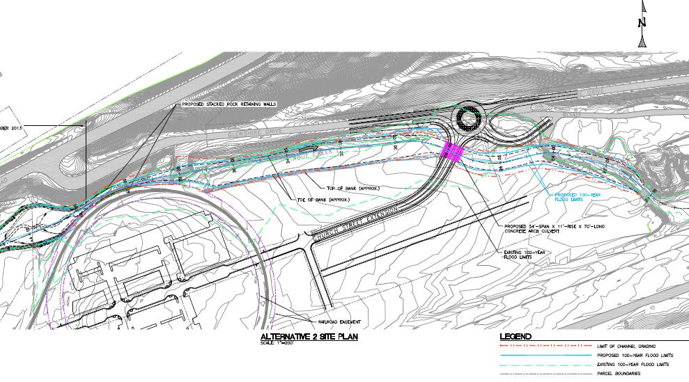 Church Street Extension Draft Plan Alternative image